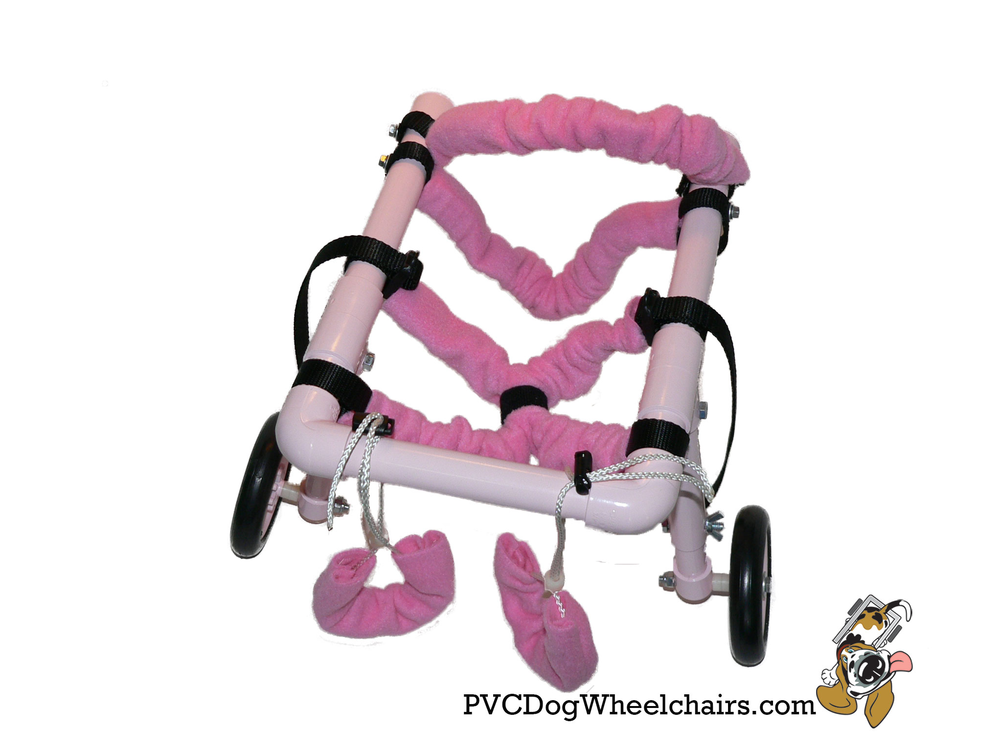 Pink Dog Wheelchair